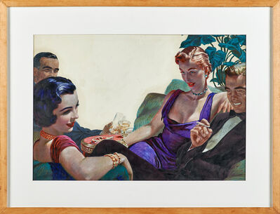 Edwin Georgi, 'Untitled (Couples on a night out)'