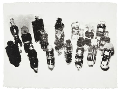Andy Warhol, 'Perfume Bottles -unique-', 1979
