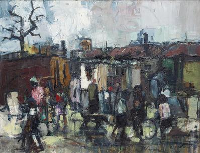 Ephraim Ngatane, 'Pimville location, The slums', 1966