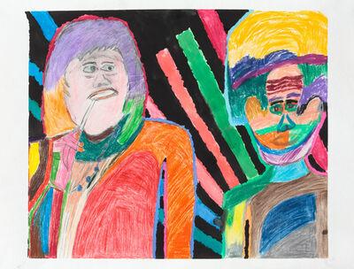 Yolanda Ramirez, 'Untitled (Multicolored Couple)', 2017