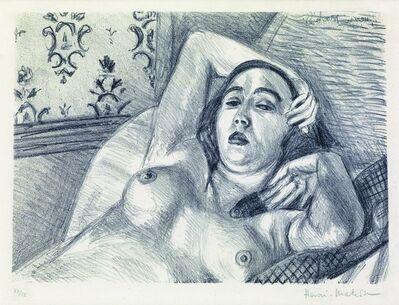 Henri Matisse, 'Le repos du modele', 1922