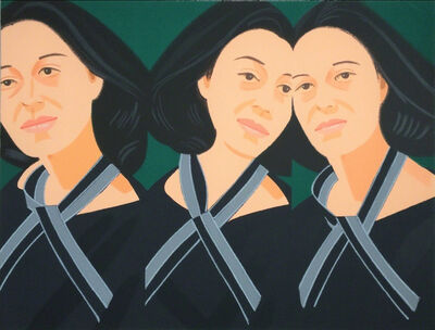 Alex Katz, 'Grey Ribbon', 1990