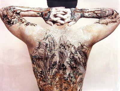 Huang Yan, 'CHINESE SHAN SHUI TATTO SERIES : BACK', 2005