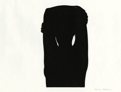 Harry Callahan, 'Eleanor (silhouette)', 1948