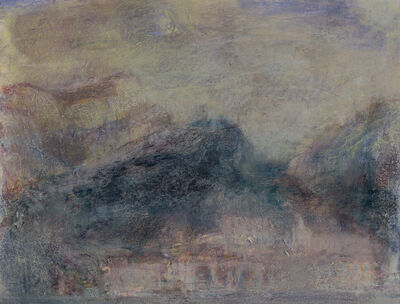 Nicholas Herbert, 'Landscape L1135 - Amalfi Series, The Town of Atrani from the Sea (in the Pompeian style)', 2018
