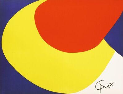 Alexander Calder, 'A CONVECTION; BEASTIE', 1974