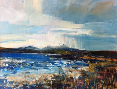Sarah Carrington, 'Clouds over Ben More, Isle of Mull', 2014