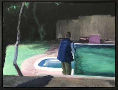 Clare Menck, 'Man from behind, with shadow', 2019