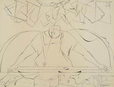 Jacob Lawrence, 'The Carpenter', 1957