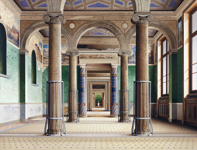Ben Johnson (b.1946), 'Roman Room', 2014