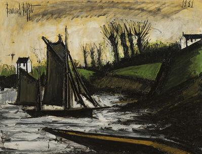Bernard Buffet, 'Bateau de pêche', 1981