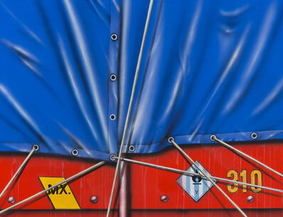 Peter Klasen, 'Camion Baché Bleu ', 1989