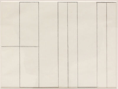 Helmut Federle, 'My Name as a Structural Design', 1979