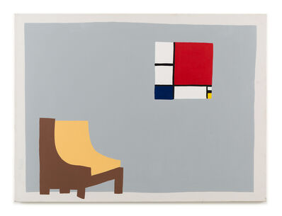 Luke Forsyth, 'Chair with Mondrian', 2019