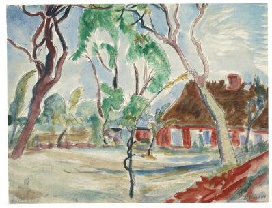 Erich Heckel, 'Obstbäume', 1921