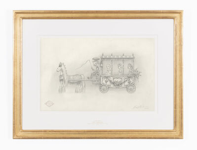 Mark Ryden, 'The Carriage (drawing)', 2016