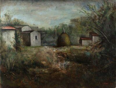 Carlo Carrà, 'Il pagliaio', 1927