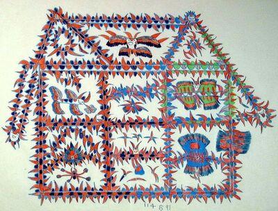 Frank Jones, 'Untitled Devil House drawing', ca. 1964-69
