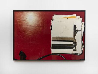 Wade Guyton, 'Zeichnungen für ein kleines Zimmer, Pages 1-2', 2011 (2020)