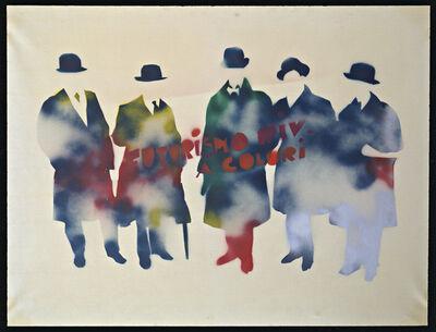Mario Schifano, 'Futurismo rivisitato a colori', 1967-1970