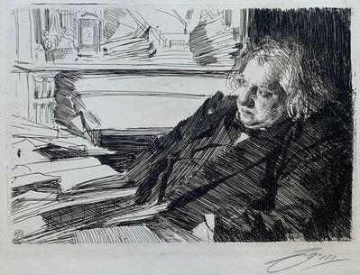Anders Leonard Zorn, 'Ernest Renan', 1892