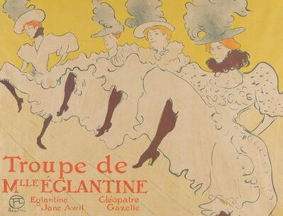Henri de Toulouse-Lautrec, 'Troupe de Mlle. Eglantine', 1896
