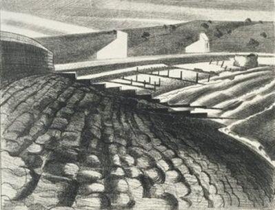 Paul Nash, 'Strange Coast, Dymchurch', 1920