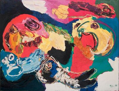 Karel Appel, 'Floating like the Wind', 1975