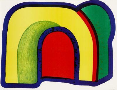 Howard Hodgkin, 'Arch from Europäische Graphik VII. Englische Künstler', 1970-1971