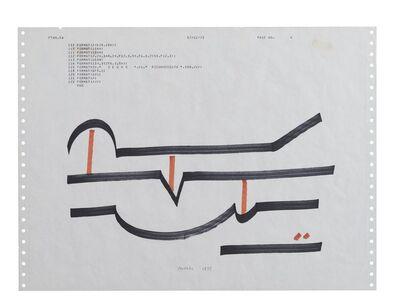 Bruno Munari, 'Scritture illeggibili di un popolo sconosciuto ', 1975