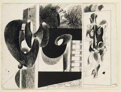 Arshile Gorky, 'Sans titre. Etude pour 'Nighttime, Enigma and Nostalgia'', 1931 -1933