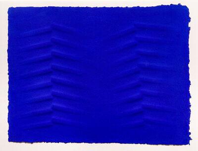 Agostino Bonalumi, 'Blu', 1996