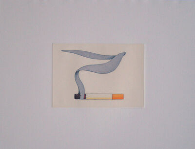 Tom Wesselmann, 'Smoking Cigarette #2', 1991
