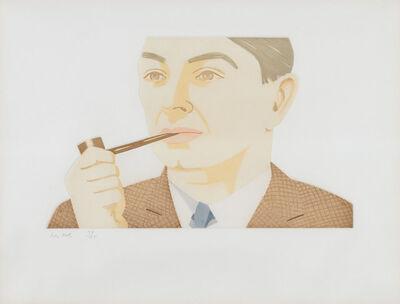 Alex Katz, 'Man With Pipe (S. 181)', 1984