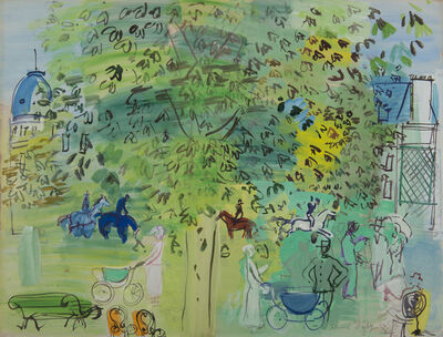 Raoul Dufy, 'Au jardin public', Unknown