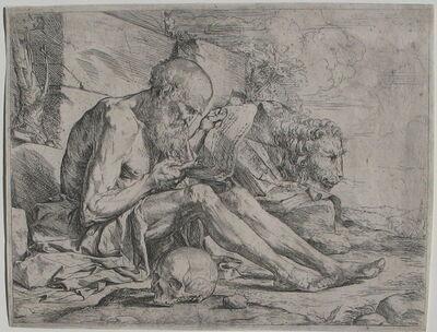 Jusepe de Ribera, 'St. Jerome reading', ca. 1624