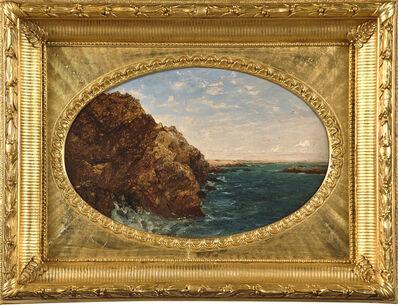 John Frederick Kensett, 'On the Coast, Newport', 1854