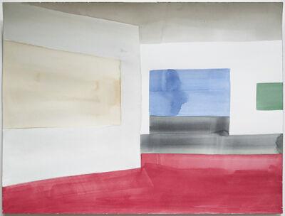 Ernst Caramelle, 'Untitled (blue wall)', 2014