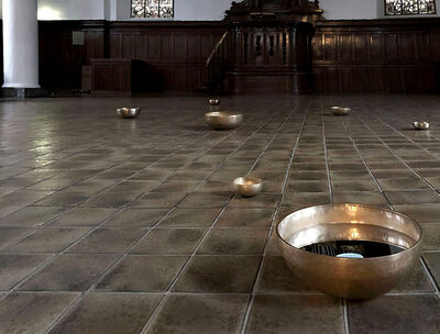 Ken Matsubara, ' Moon Bowl installation', 2018