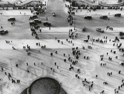 Ilse Bing, 'Street Scene From Above', 1931
