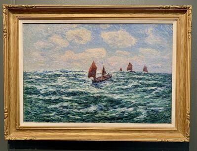 Henry Moret, 'Bateaux de pêche, Audierne', 1906