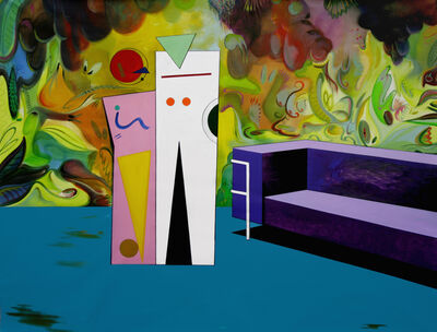 Adriana Minoliti, 'Living', 2015