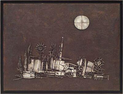 Arnaldo Pomodoro, 'I giardini di pietra', 1956