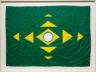 Raul Mourão, 'The New Brazilian Flag #5 ', 2020