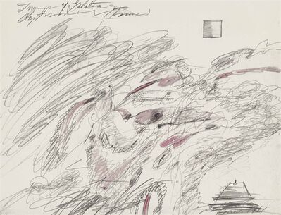 Cy Twombly, 'Triumph of Galatea'