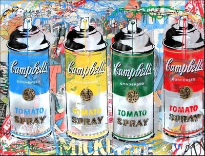 Mr. Brainwash, 'TOMATO SPRAY', 2014