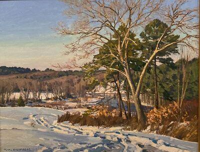 TM Nicholas, 'Medfield Winter View', 2021