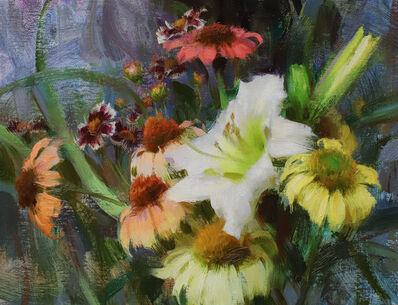 Daniel Keys, 'Daylily, Echinacea, & Coreopsis', 2019