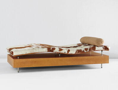 "Maya Lin, '""Longitude Chaise,"" from the ""Earth is (Not) Flat"" series', ca. 1998"