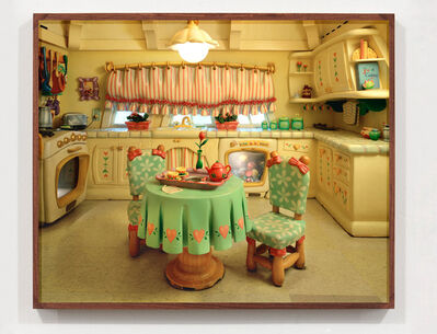 Catherine Wagner, 'The Architecture Of Reassurance: Minnie Mouse's Kitchen II; Mickey's Toontown, Disneyland, Anaheim, CA', 1995